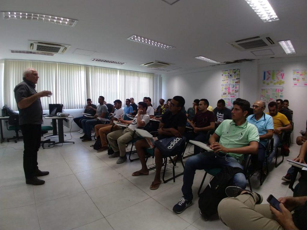 Turma de Mecânico Montador inicia com 35 alunos no IFCE Campus do Pecém